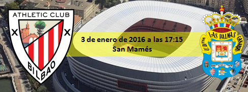 Previa Athletic Club de Bilbao - UD Las Palmas