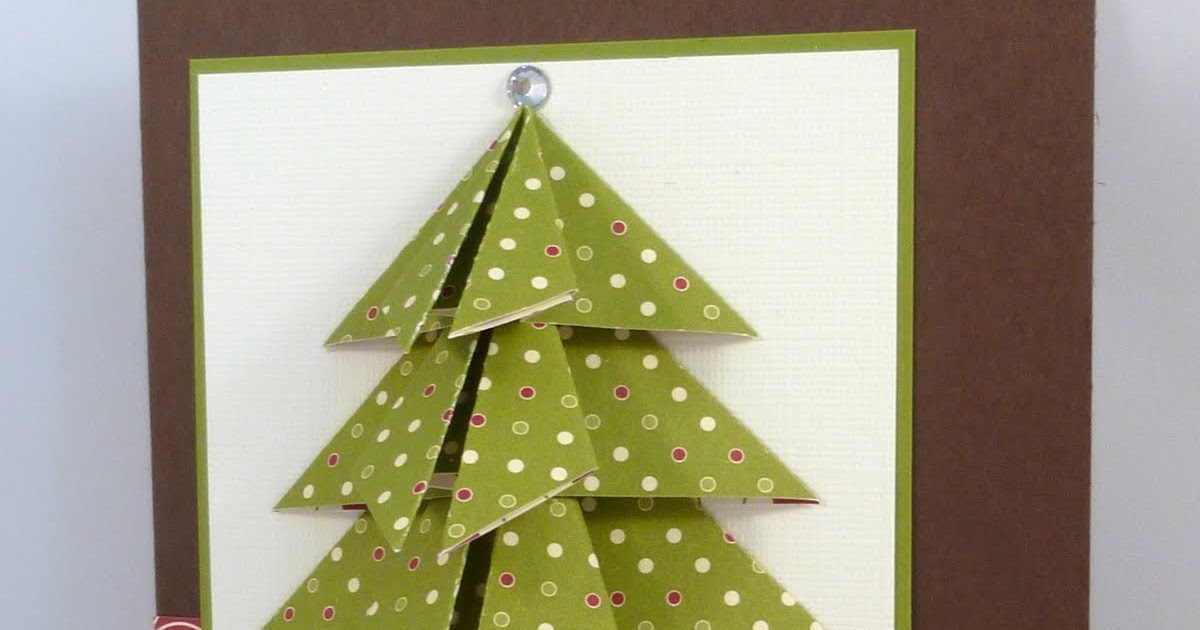 Did You Stamp Today?: Folded Christmas Tree