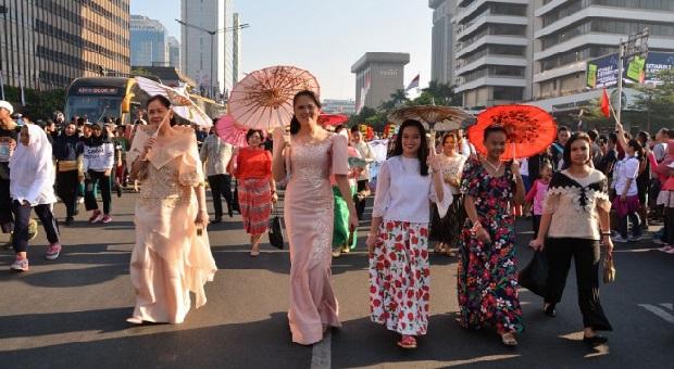 Indonesia Jadi Pelopor ASEAN Car Free Day