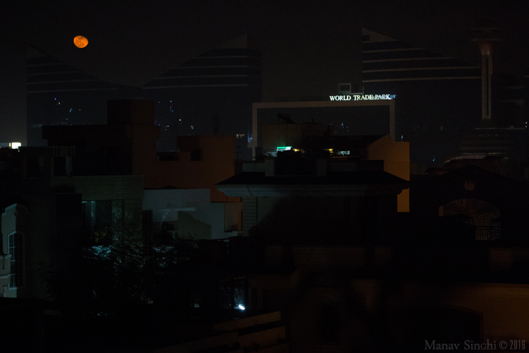 World Trade Park Jaipur Moon