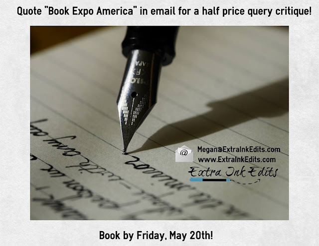 "Image of Offer from Extra Ink Edits- Offering Professional Editing Services for Writers including query critique, help for ""edit my novel"", beta reading and full line edits"