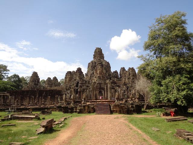 Templo de las casas sonrientes, Bayon - Angkor Wat (Camboya)