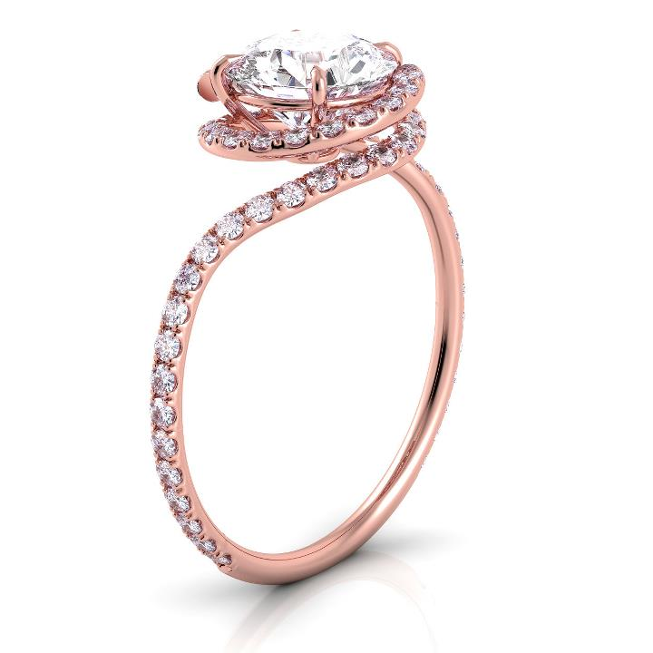 Unique Rose Gold Rings Ringscladdagh