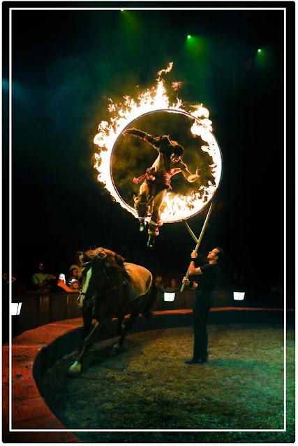 cirque équestre feu  Origines d'Alexis Gruss : Charles Gruss
