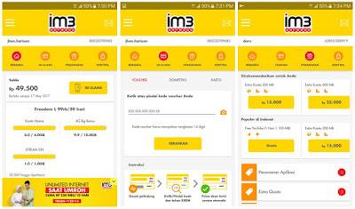 Aplikasi Android MyIM3