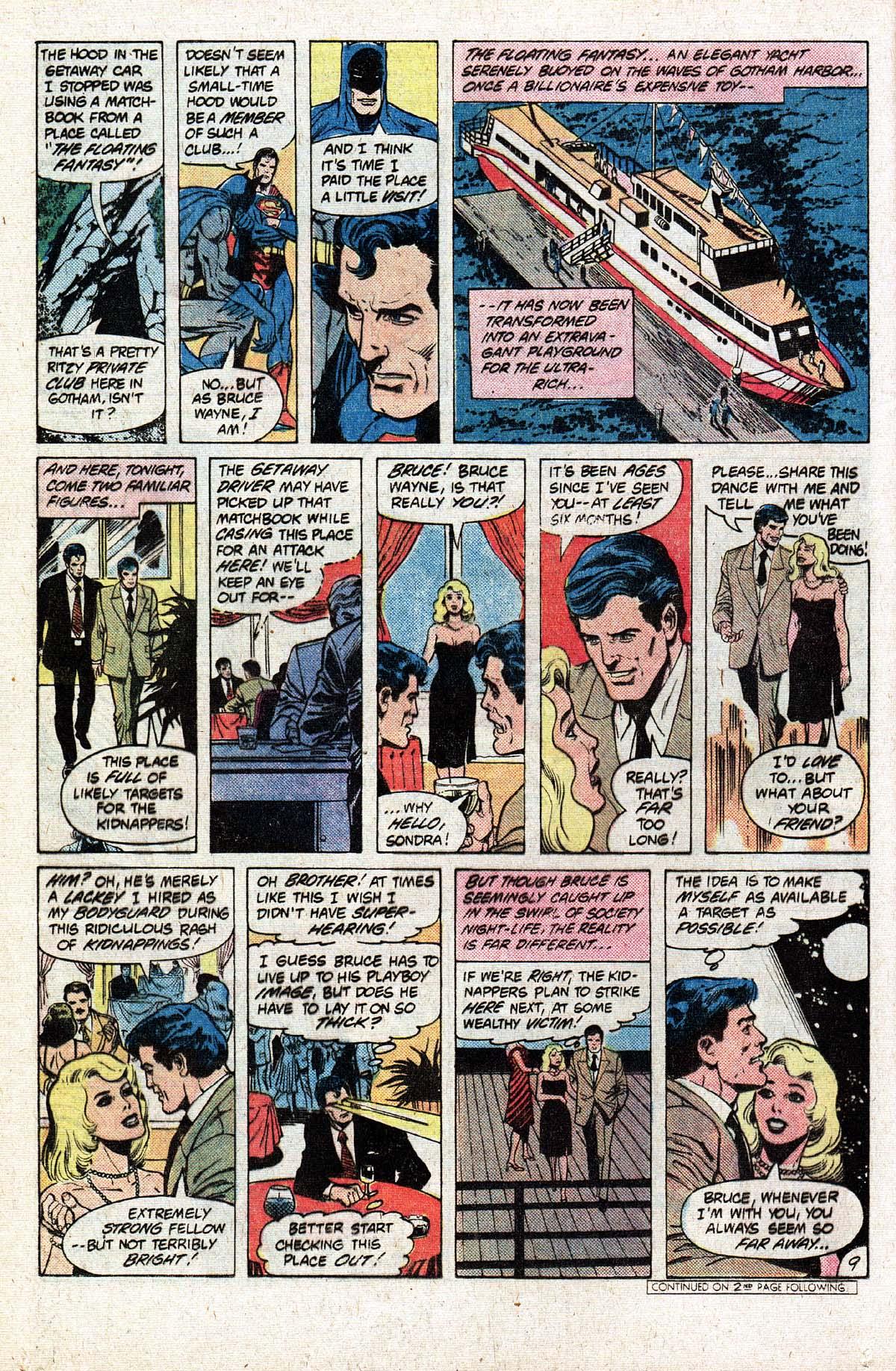 Read online World's Finest Comics comic -  Issue #279 - 12