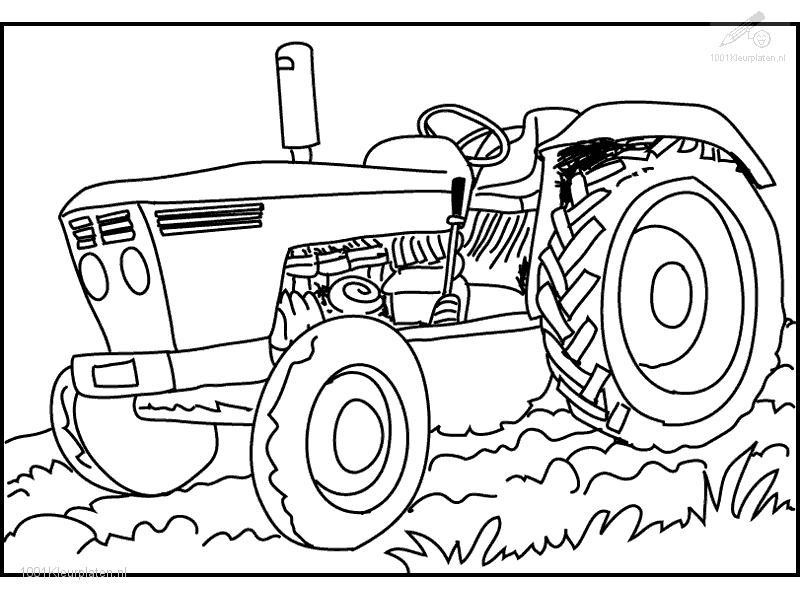 Free coloring pages of case ih