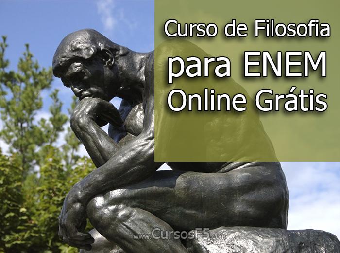 Curso de Filosofia para ENEM Online Grátis