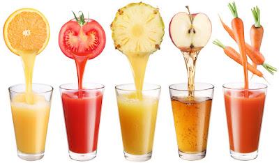 Cara Membuat Juice Mentimun dan Nanas