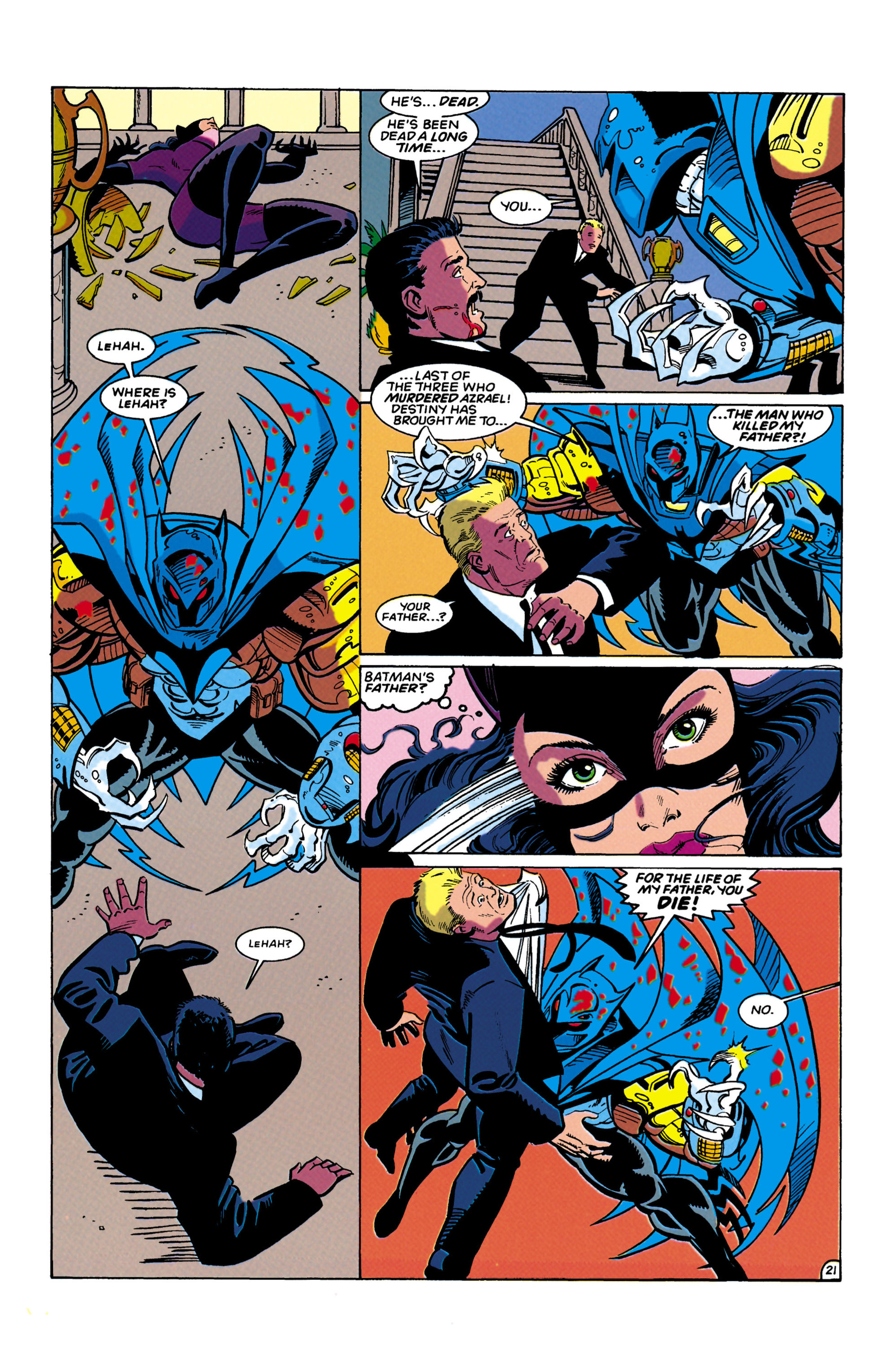 Catwoman (1993) Issue #12 #17 - English 21