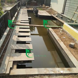 Jasa renovasi kolam koi minimalis tangerang