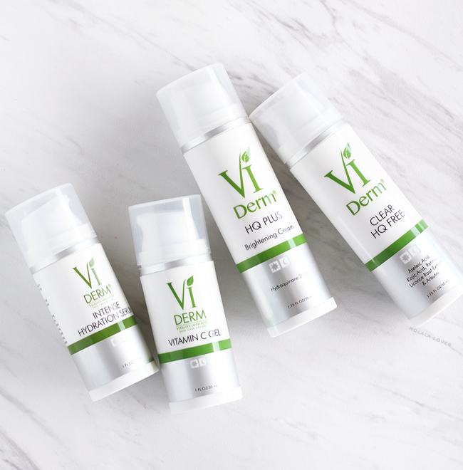 VI Derm, VI Derm Review, VI Derm Vitamin C Gel, VI Derm HQ Plus, VI Derm Clear HQ Free, VI Derm Intense Hydration Serum, Skin Brightening Skincare