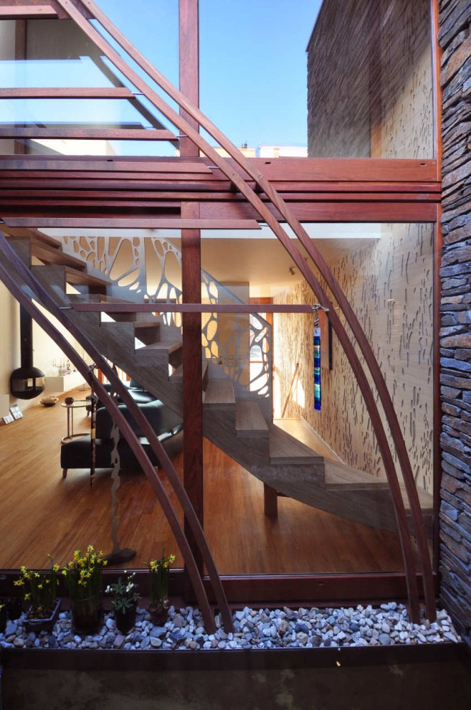 Steel Buildings Ontario >> Beautiful Houses: Corten steel and wood facade house ...