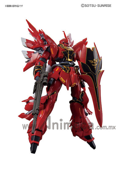 Sinanju MSN-06S Real Grade (RG) 1/144 Model Kit Mobile Suit Gundam Unicorn