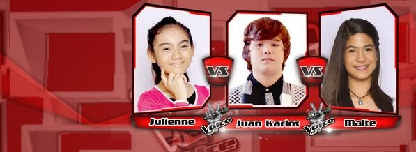 Julienne vs Juan Karlos vs Maite Team Bamboo Battles on 'The Voice Kids' Philippines