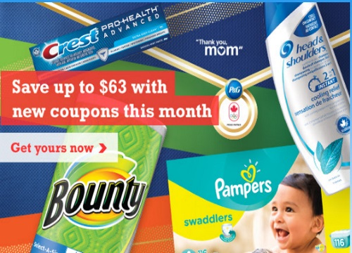P&G Smartsource Coupons August 2016
