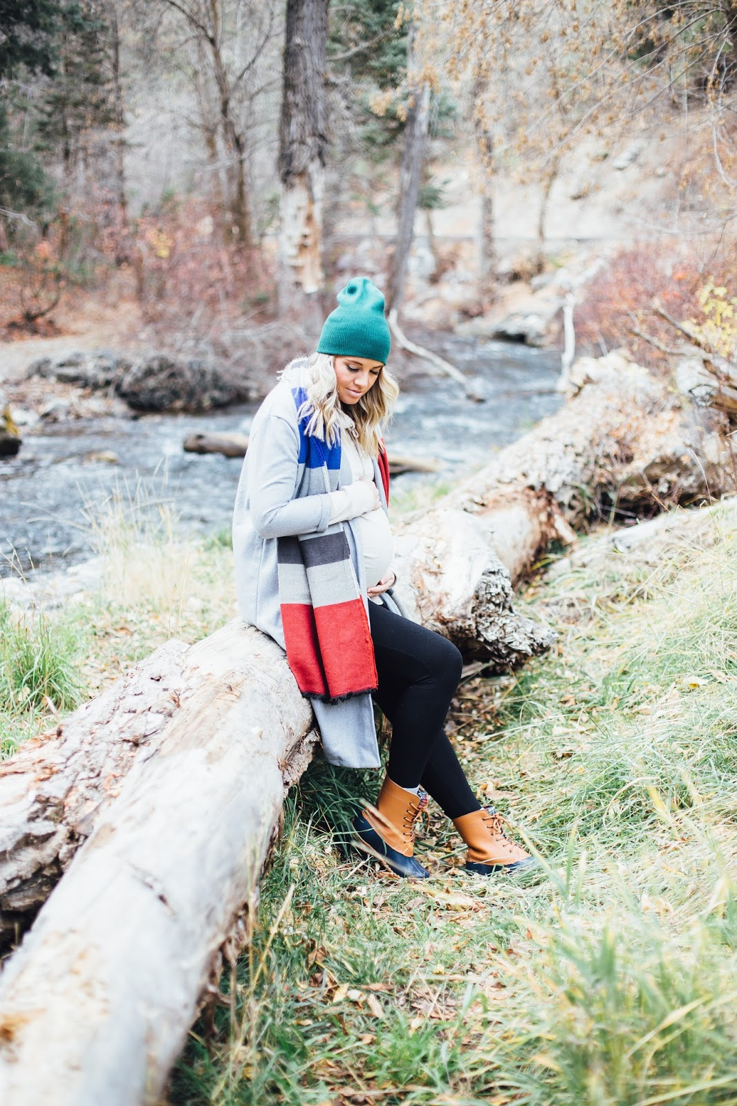 Winter Outfit, Color Block, Pregnant Outfit, Pregnant Style