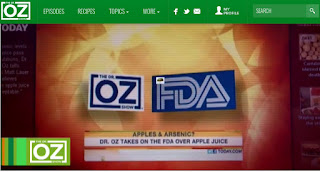 dr. oz show today's episode : Are Your Favorite Health Foods High in Arsenic? What You Need to Know Now