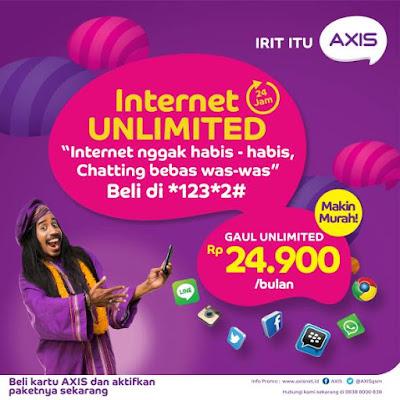 Sekilas Tentang Paket Internet Murah Axis Unlimited