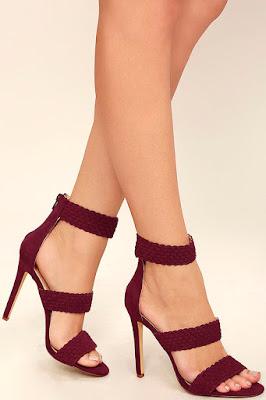 zapatos rojos hermosos