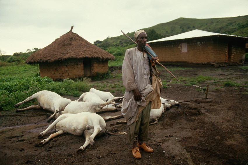 - Joseph Nkwain, a father and farmer in Cameroon survived the Lake Nyos eruption but he was unable to save his daughter