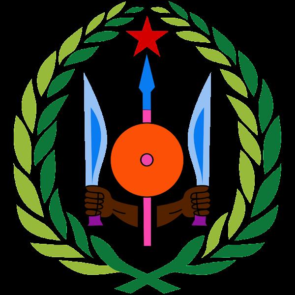 Logo Gambar Lambang Simbol Negara Djibouti PNG JPG ukuran 600 px