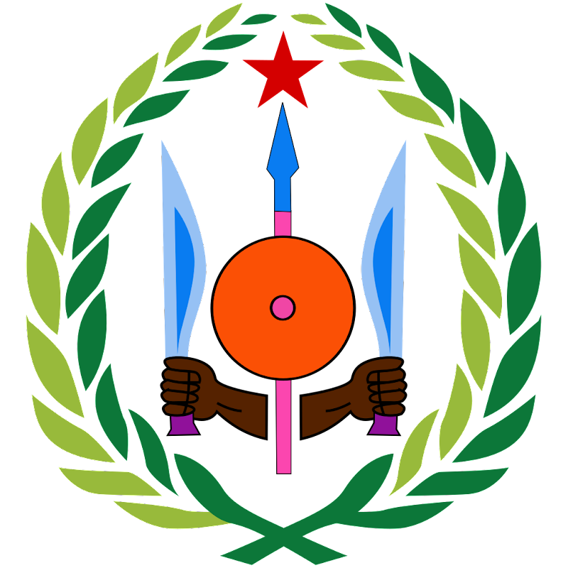 Logo Gambar Lambang Simbol Negara Djibouti PNG JPG ukuran 800 px