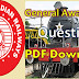 General Awareness on Railway PDF Download