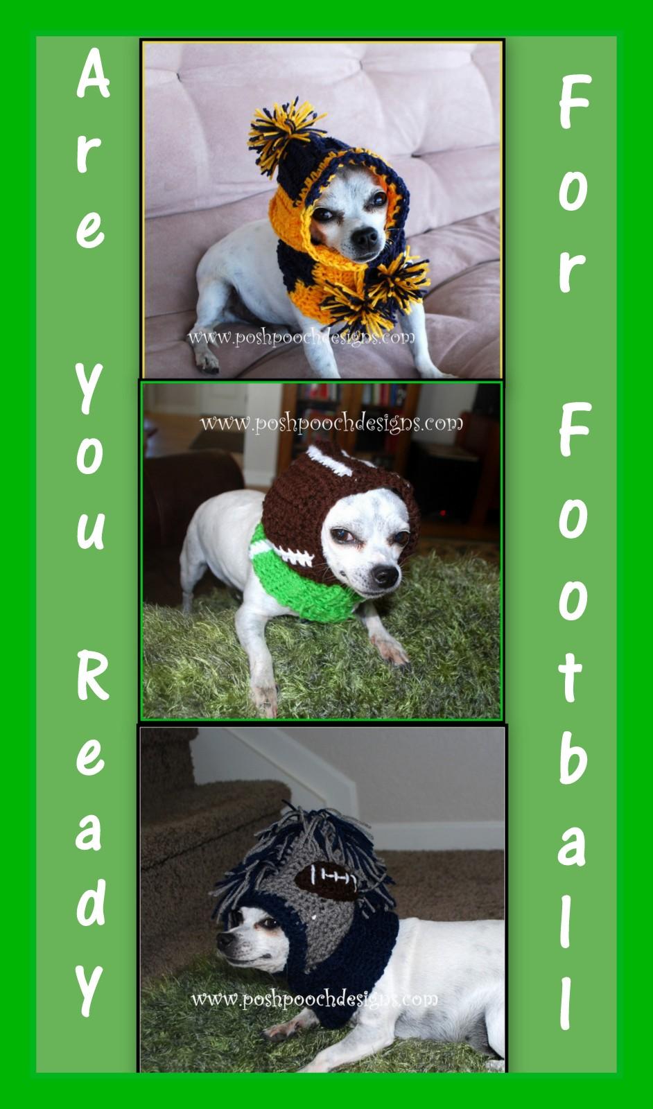 Posh Pooch Designs Dog Clothes: 3 Dog Snoods New Crochet Pattern ...
