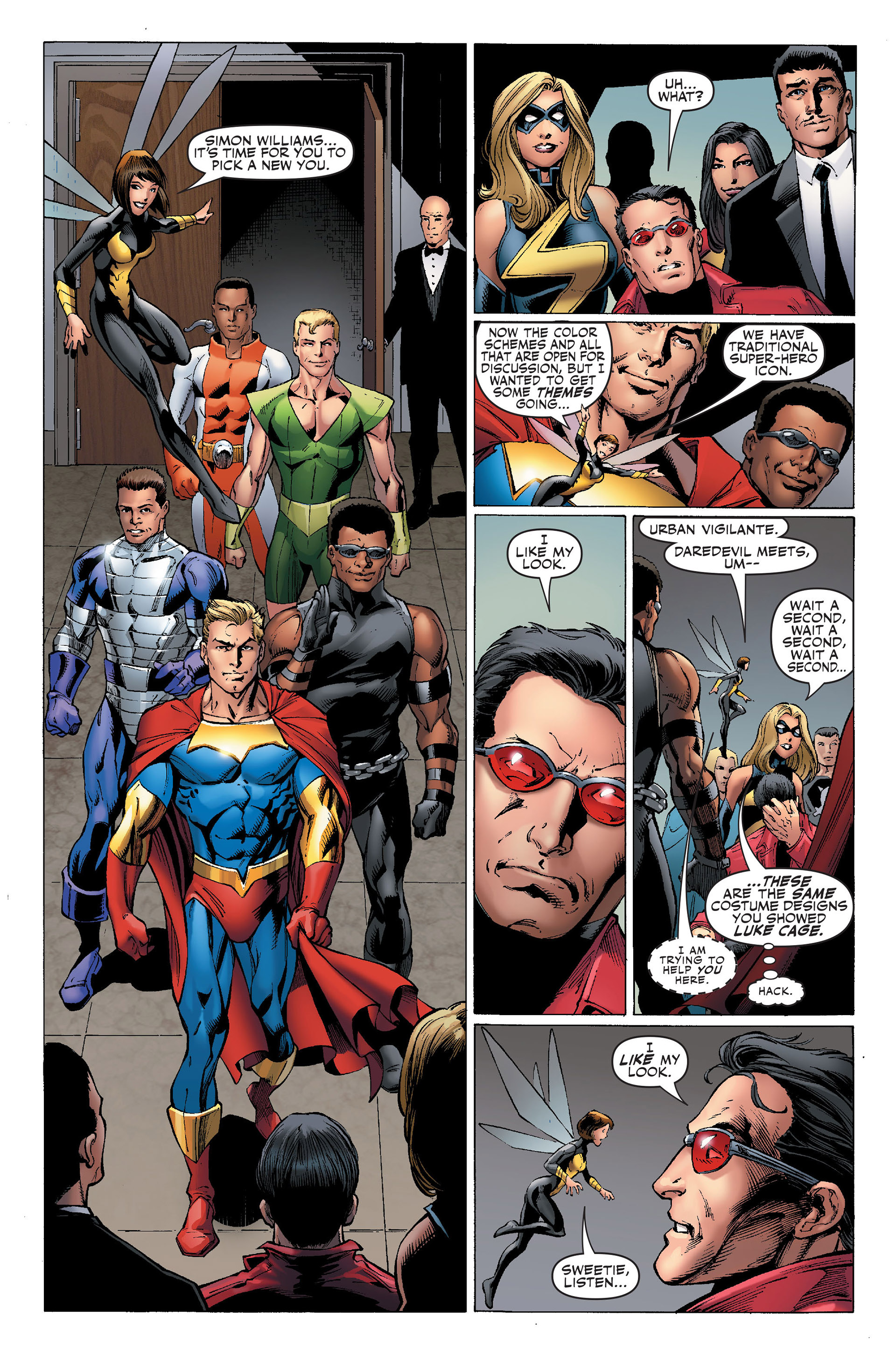 Read online Secret Invasion: The Infiltration comic -  Issue #1 - 14