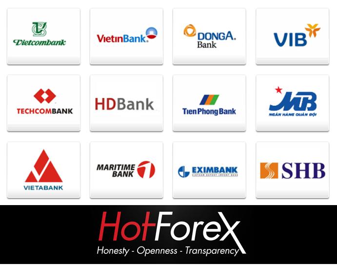 Hướng dẫn rút tiền HotForex qua Bank Wire Transfer