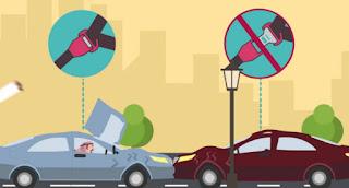 حزام الأمان يحمي من السقوط خارج السيارة