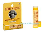 Logo Campioni omaggio  balsamo labbra Burt's Bees Moisturizing Lip : richiedili gratis