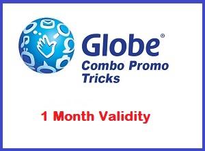 1 Month (30 days) Globe GOSAKTO Combo Promos