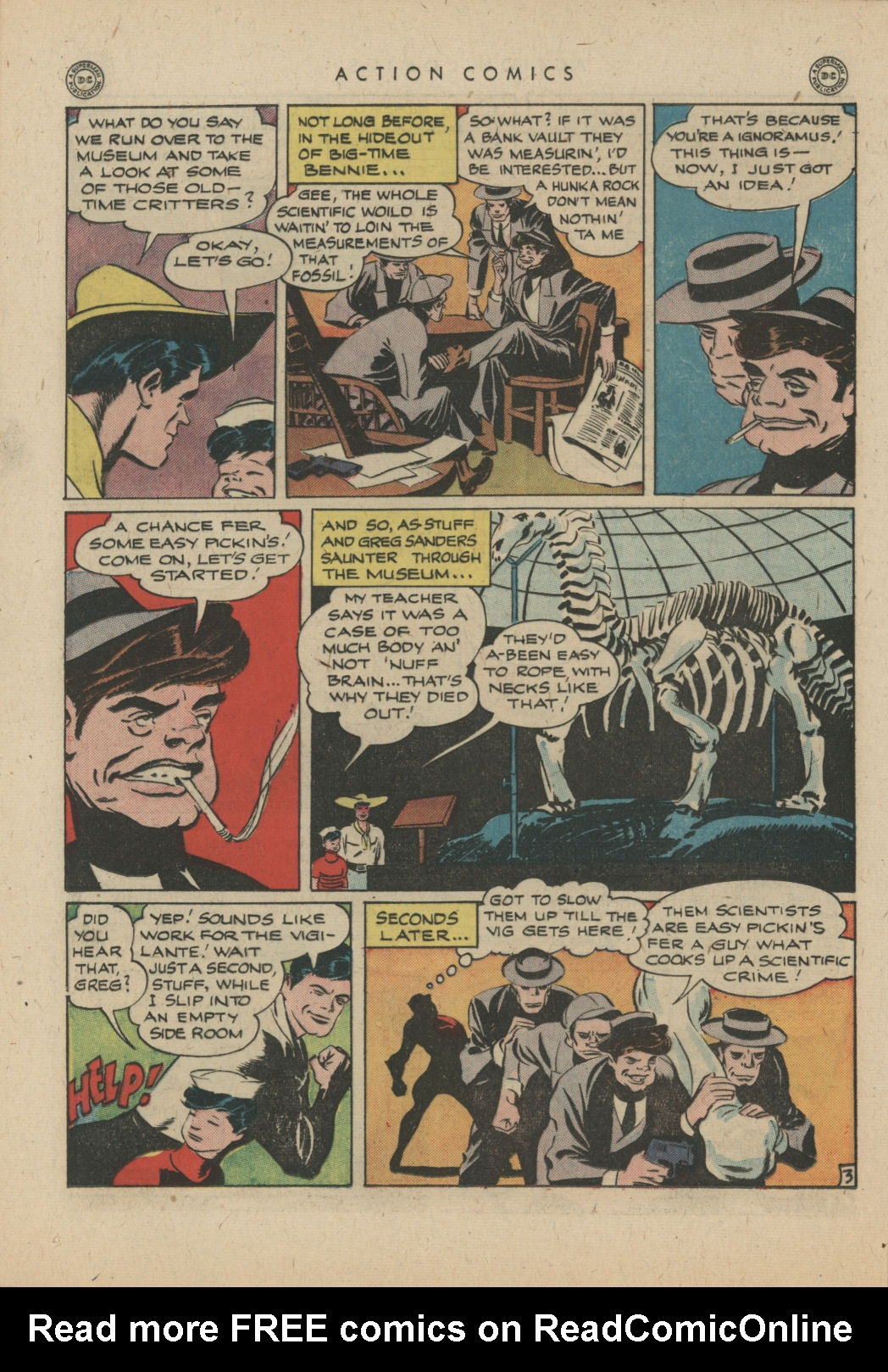 Read online Action Comics (1938) comic -  Issue #83 - 33