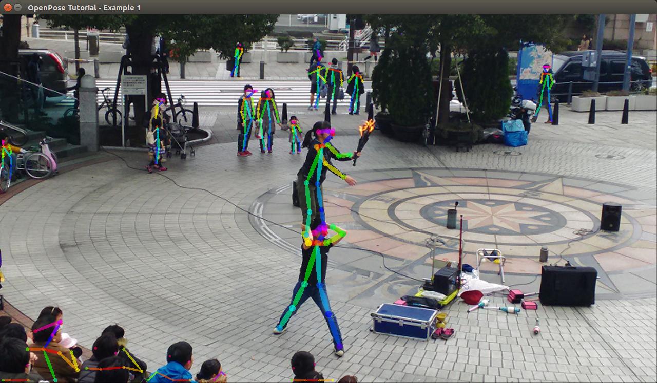 OpenCV 備忘録: OpenPoseのサンプルプログラムでいろいろな画像を試して