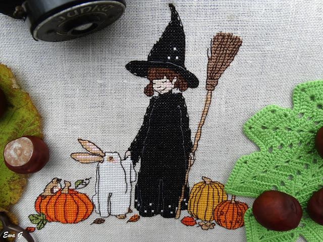 "Belle&Boo ""Halloween"" - testowanie wzoru"