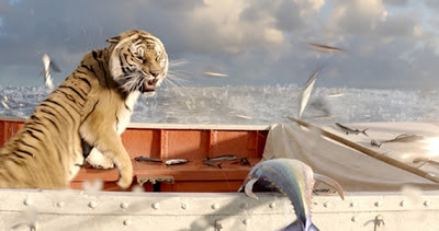 Richard Parker on the prowl, Royal Bengal Tiger, Directed by Ang Lee