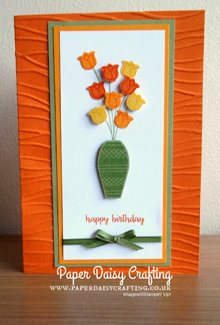 Varied Vases from Stampin Up