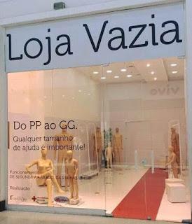 'Loja Vazia' do Shopping Grande Rio retorna com mais uma ação social