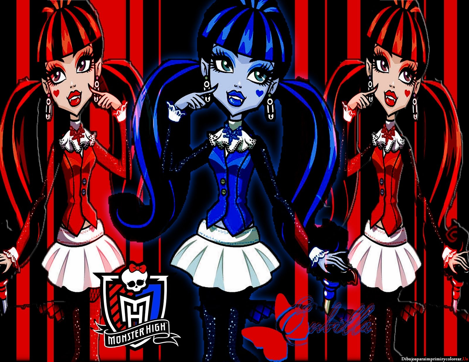 Fondos De Pantalla De Monster High: Imagenes De La Monster High Para El Fondo Del Escritorio