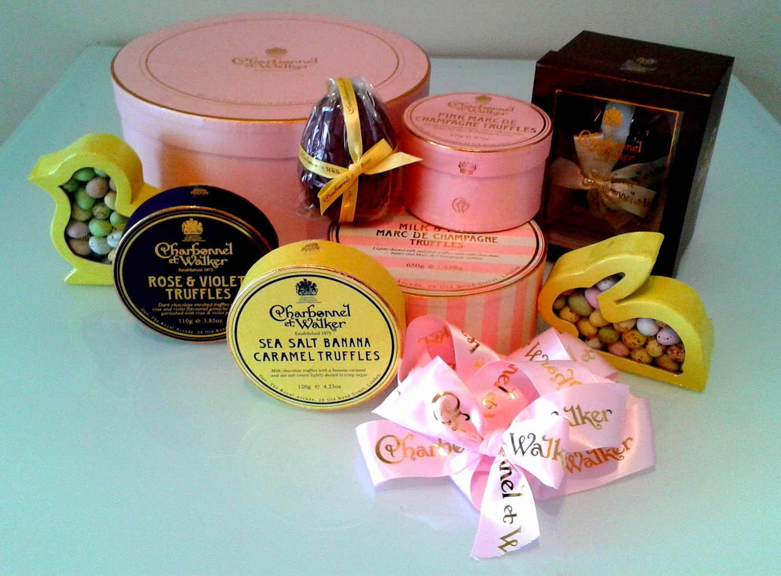 Charbonnel et Walker, Handmade Chocolates, Easter Eggs, Premium Easter Eggs, Chocolatier, Champagne Truffles