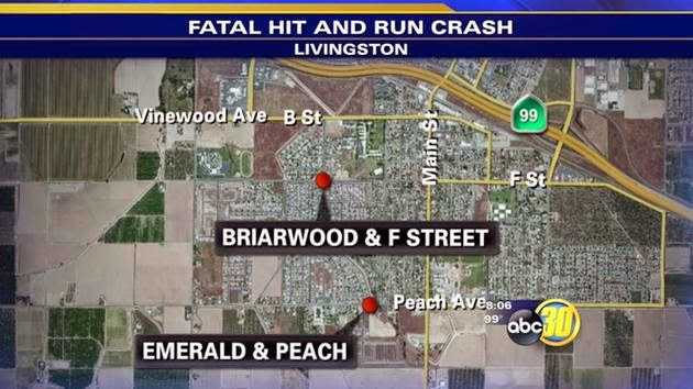 merced county fatality car accident suv choudhry mohammad livingston briarwood drive