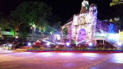 Tempat Menarik di Melaka Waktu Malam Kota A Famosa
