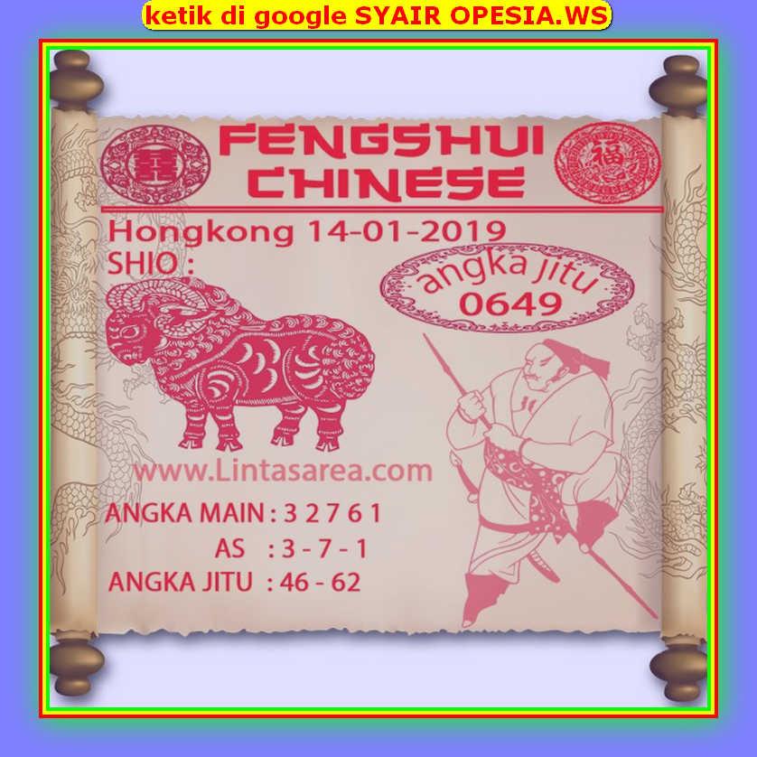 Kode syair Hongkong Selasa 14 Januari 2020 111