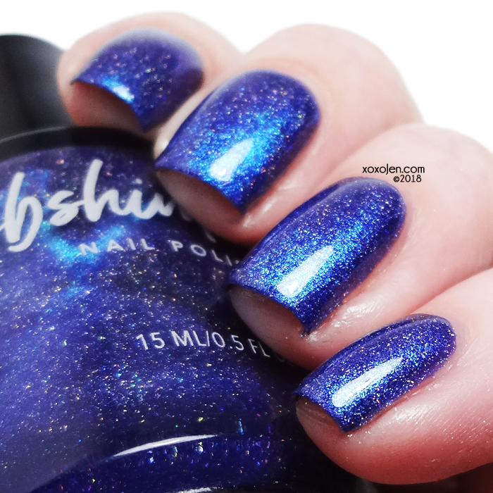 xoxoJen's swatch of KBShimmer Space-ial Edition (Magnetic)