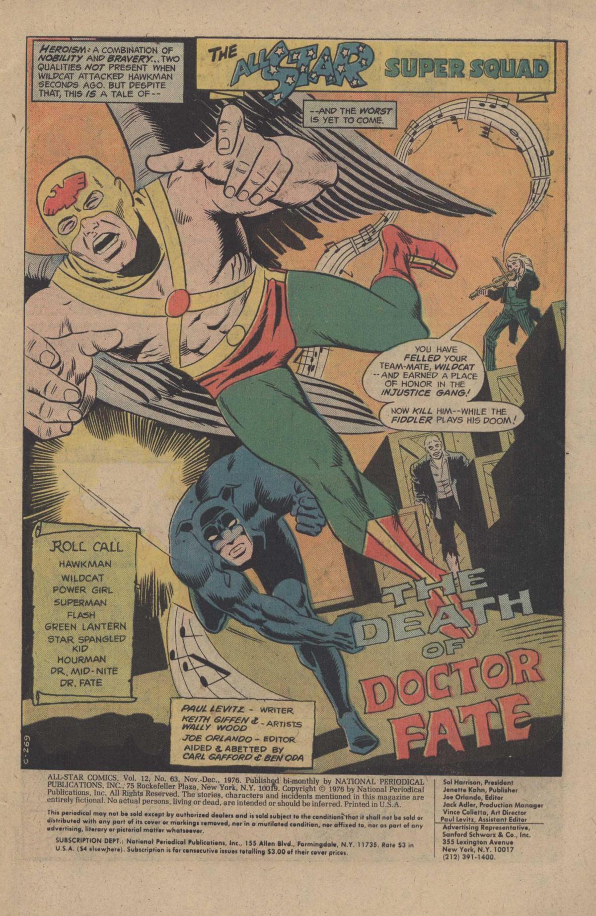 Read online All-Star Comics comic -  Issue #63 - 3