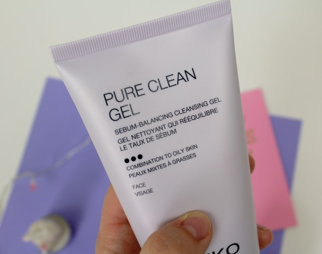 KIKO's gel face wash for combination/oily skin