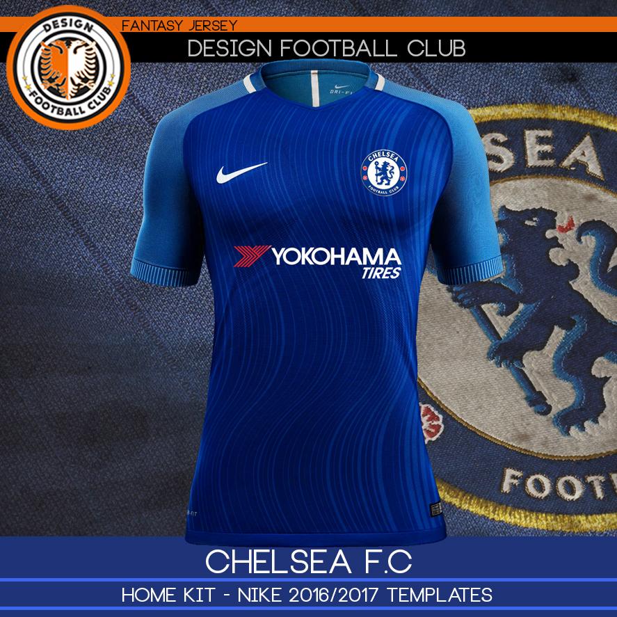 191e391f918a5 Design Football Club  Chelsea - Nike 2016 2017