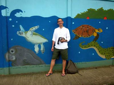 Pueblo de Tortuguero en Costa Rica